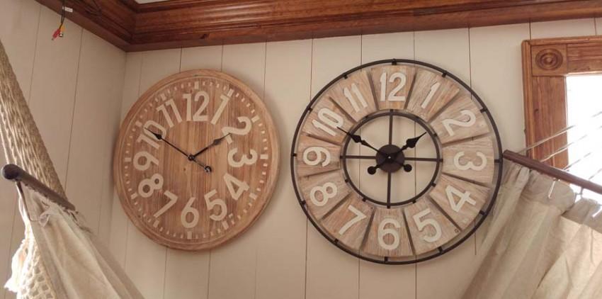 Horloges Shabby Chic